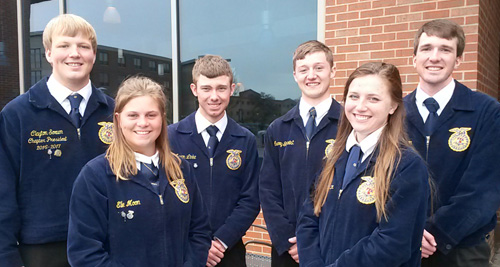 2017-18 SD State FFA Officers